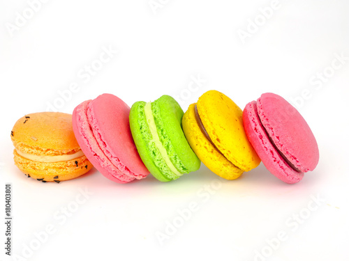 Poster Macarons colorful macaroon