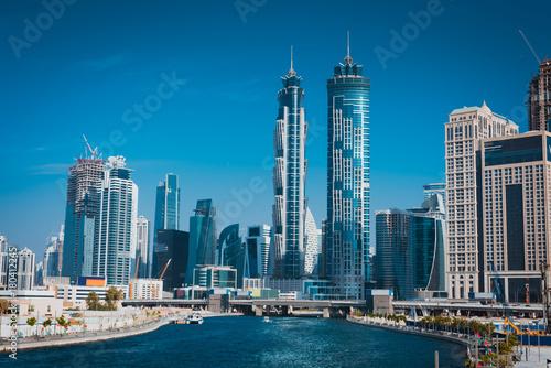 Staande foto Dubai dubai water canal cityscape