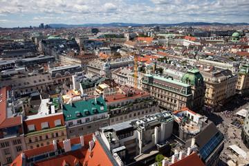 City of Vienna Cityscape in Austria