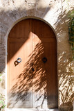 Mallorca: archaic colorful beautiful gate, entry door :) - 180427605