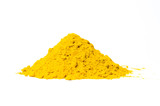 Curry powder isolated on white - 180431441