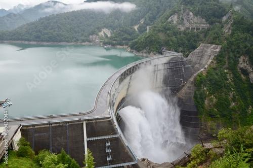 富山県 立山黒部アルペンルート 黒部ダム Japan Toyama Tateyama Kurobe Alpine Route Kurobe Dam Photo by Kz-e7