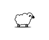 Sheep logo - 180449861