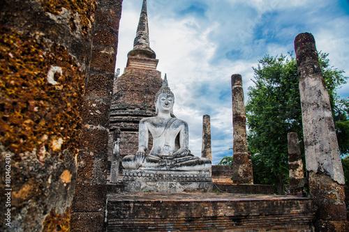 Fotobehang Thailand Sukhothai historical park in Thailand