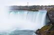 Viewpoint of the niagara fall.Canada.