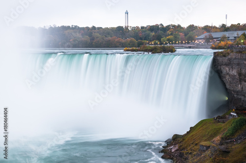 Viewpoint of the niagara fall.Canada. Photo by EGT