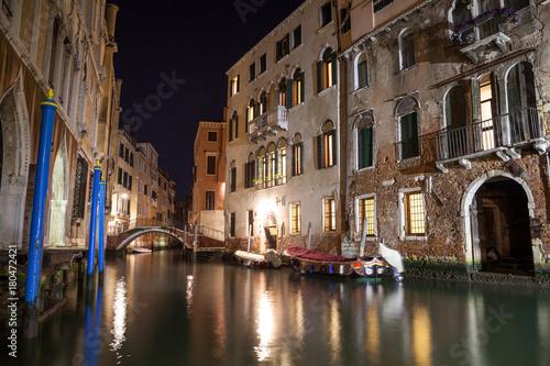 Foto op Plexiglas Venetie Kanal in Venedig, Italien