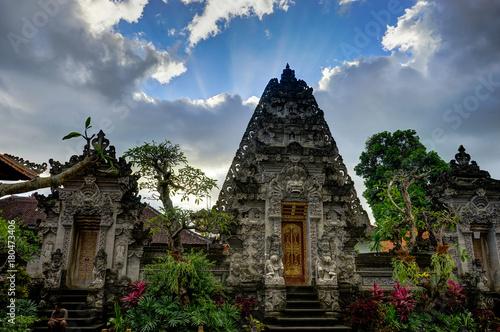 Deurstickers Bali Hindu Temple in Ubud Bali Indonesia