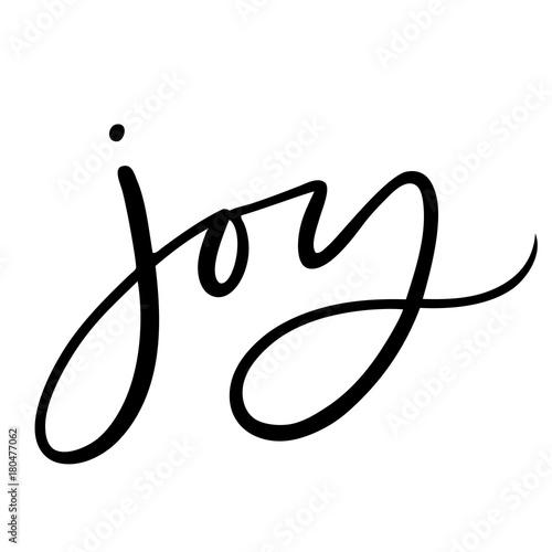 kbecca_vector_handlettering_brushlettered_joy