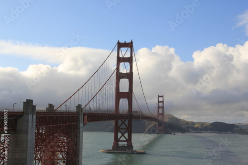 USA California San Francisco Golden Gate Bridge Poster