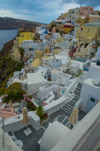 Foto op Canvas Santorini Santorini Oia