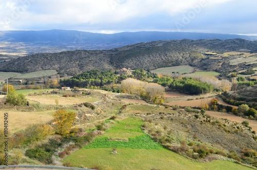 Foto op Plexiglas Pistache Pueblos de Aragon Spain Sos del Rey Católico