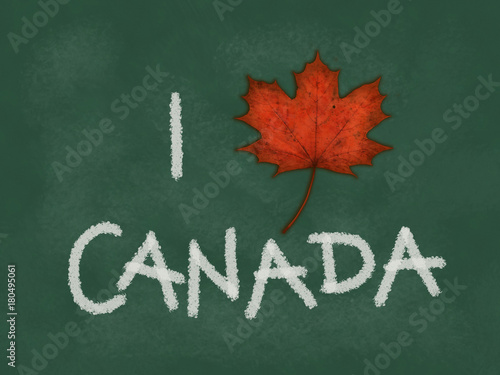 Papiers peints Canada i love canada