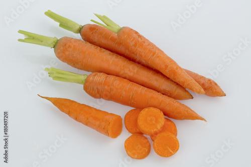 Foto op Canvas Eten fresh carrots