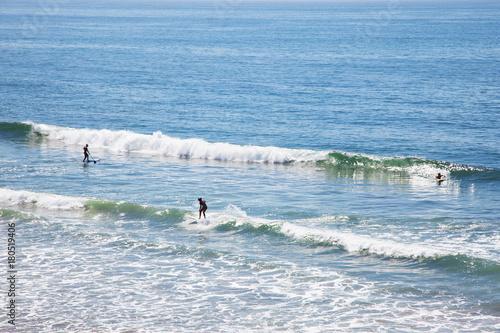 サーフィン 波 surfing 波に乗るサーファー Poster