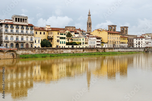 Foto op Canvas Florence Florence and Arno river view, Tuscany, Italy