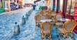 PARIS, FRANCE - DECEMBER 2012: Tourists visit Montmartre art dis