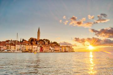 Sunset at Rovinj Croatia