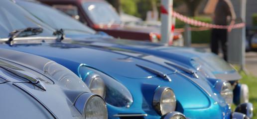 exposition de voitures de sport de collection