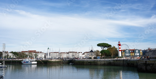 Wall mural Port de la Rochelle