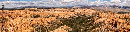 Keuken foto achterwand Panoramafoto s Panorama Bryce Canyon Utah