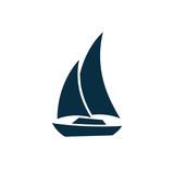 Marine Nautical Icon Vector Set