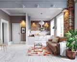 modern apartment interior - 180600407