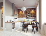 modern kitchen  interior - 180600411