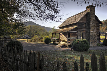 Oconaluftee Mountain Farm Museum Great Smoky Mountains National Park