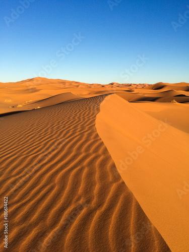 Papiers peints Orange eclat Marokkos Wüste