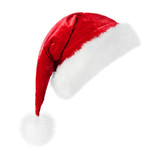 santa hat isolated on white background - 180615656