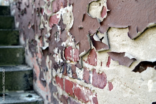 Papiers peints Brick wall stara odrapana ściana