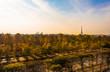 Overlooking the Tuilerie Gardens