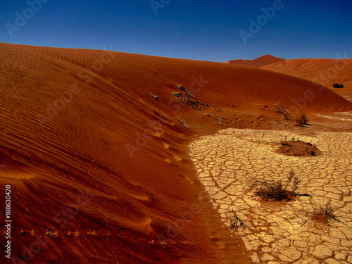 Foto op Canvas Rood paars Namibia