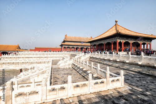 Papiers peints Pekin Forbidden City. Beijing, China