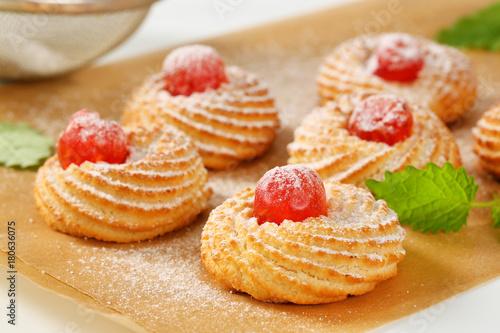 Aluminium Kersen Sicilian almond cookies