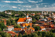 Vilnius, Lithuania. Church Of St Anne, Church Of Ascension, Church Of Sacred Heart Of Jesus, Cathedral Of Theotokos, Church Of St Johns,