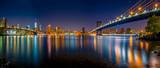 Brooklyn bridge & Manhattan bridge - 180642047