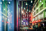 Fototapety Christmas lights 2016 in Carnaby, London