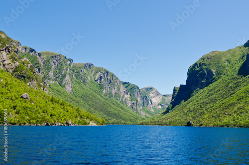 Foto op Canvas Canada Western Brook Pond