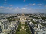 paris drone shots