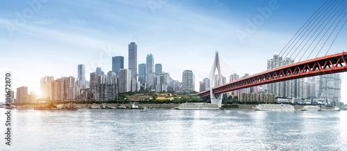 Poster China Chongqing dimensional traffic