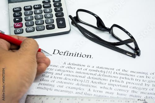 focus statement definition