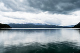 Regen am Walchensee - 180687213