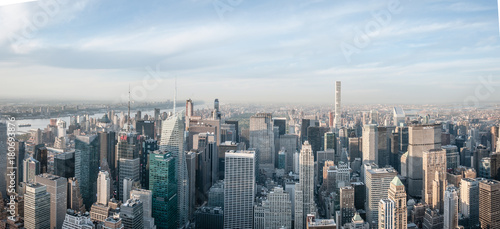 Aluminium New York panorama skyline new york