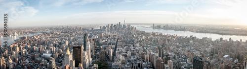 Keuken foto achterwand New York panorama skyline new york