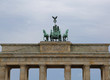 Berlin Germany Ancient Brandenburg Gate symbol of the city