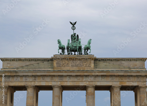 Papiers peints Berlin Berlin Germany Ancient Brandenburg Gate symbol of the city
