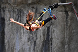 Bungee jumps, extreme and fun sport. - 180702023
