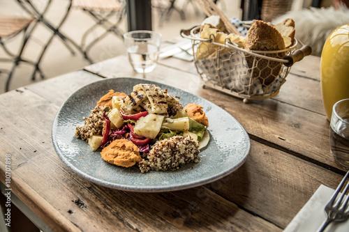 Halloumi Quinoa Salad - 180707898